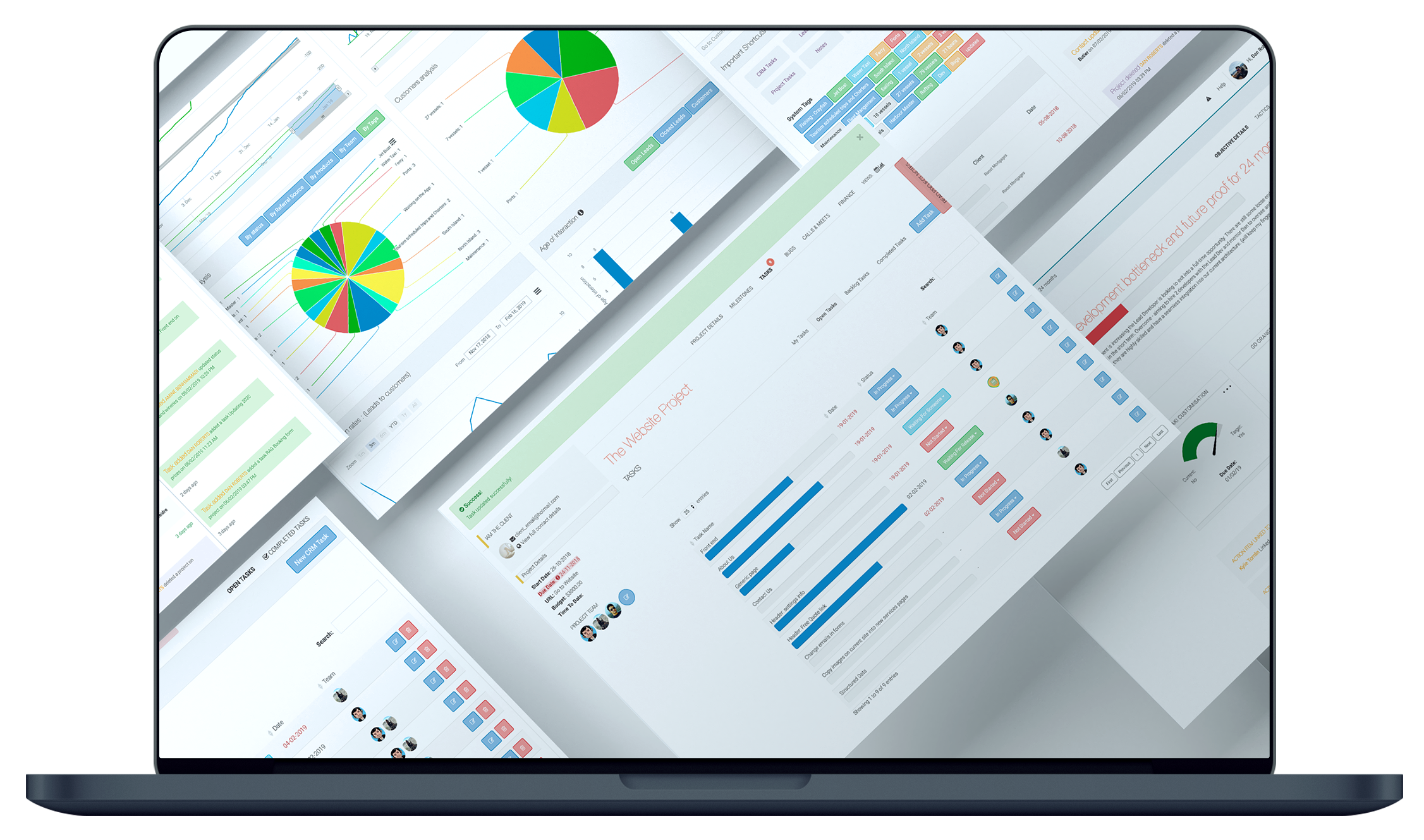 Chimbra Project Management and CRM Software for business